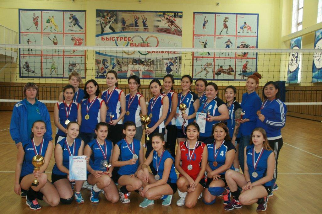 Открытое Первенство по волейболу среди женских команд