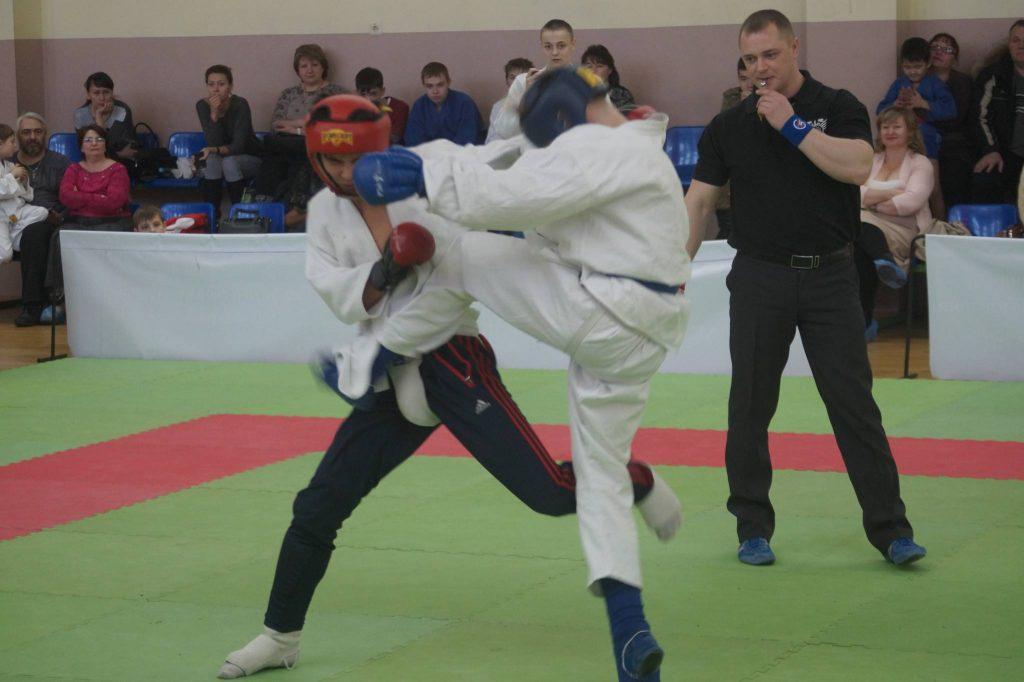 Открытый турнир по рукопашному бою