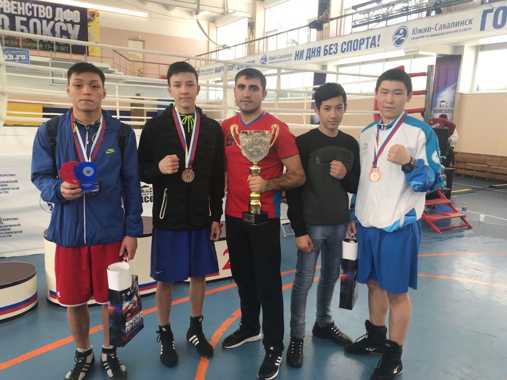 Первенство Дальневосточного федерального округа по боксу