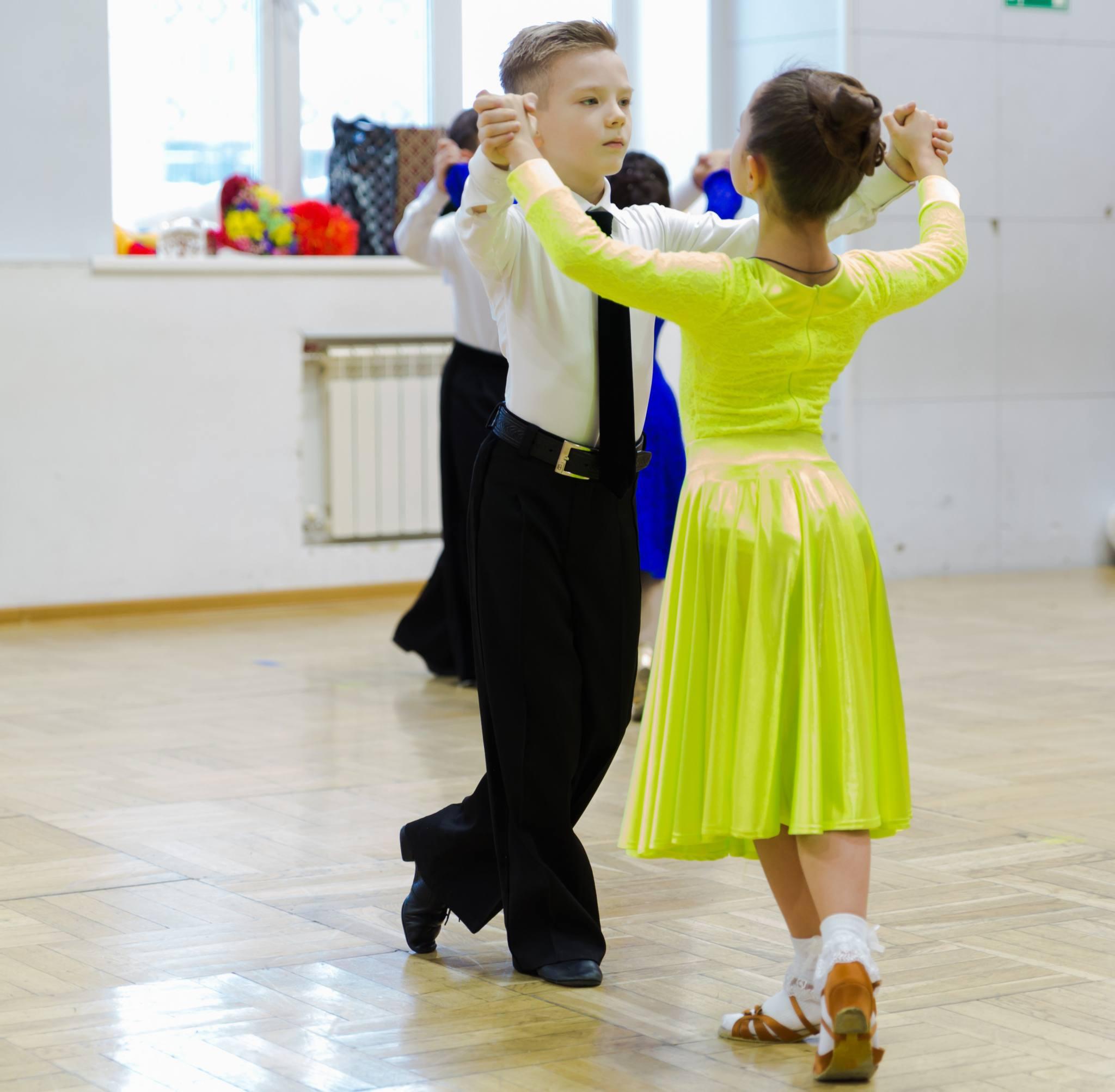 Первенство ДЮСШ по спортивным танцам