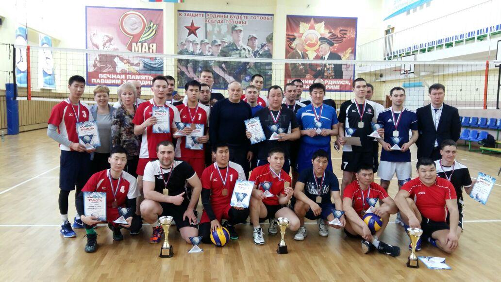 Первенство Мирнинского района по волейболу.