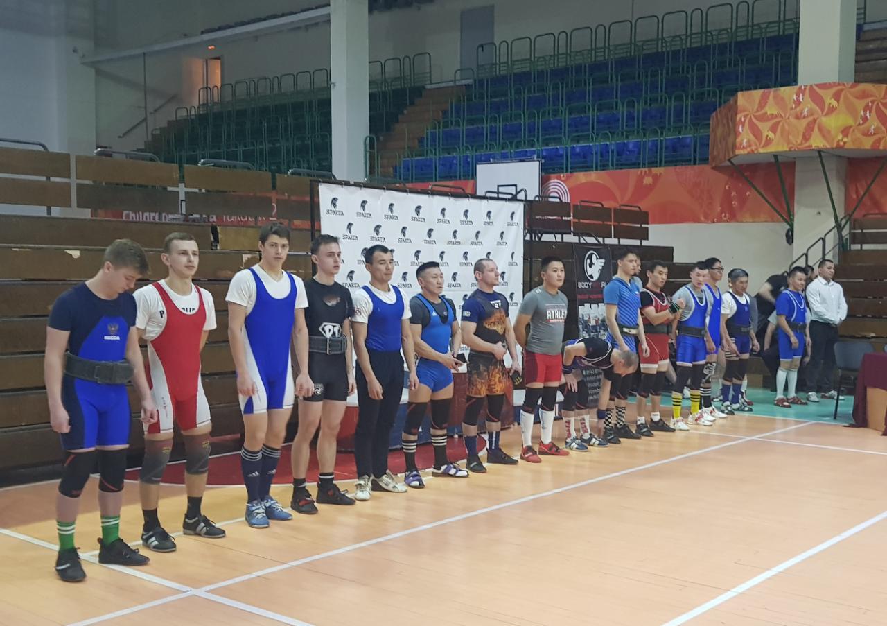 Чемпионат ДФО по пауэрлифтингу.