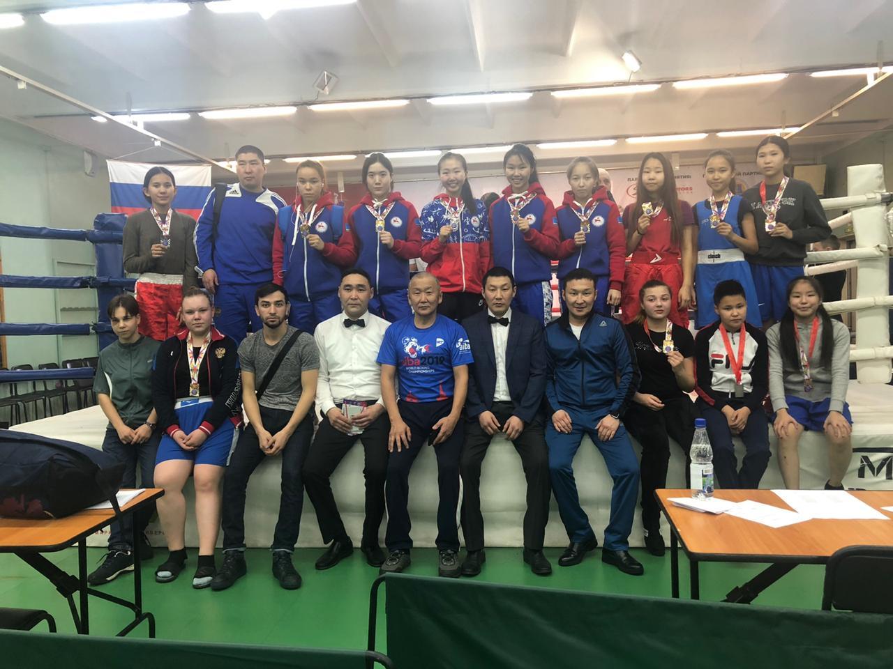 Первенство ДФО по боксу среди девушек в городе Владивостоке