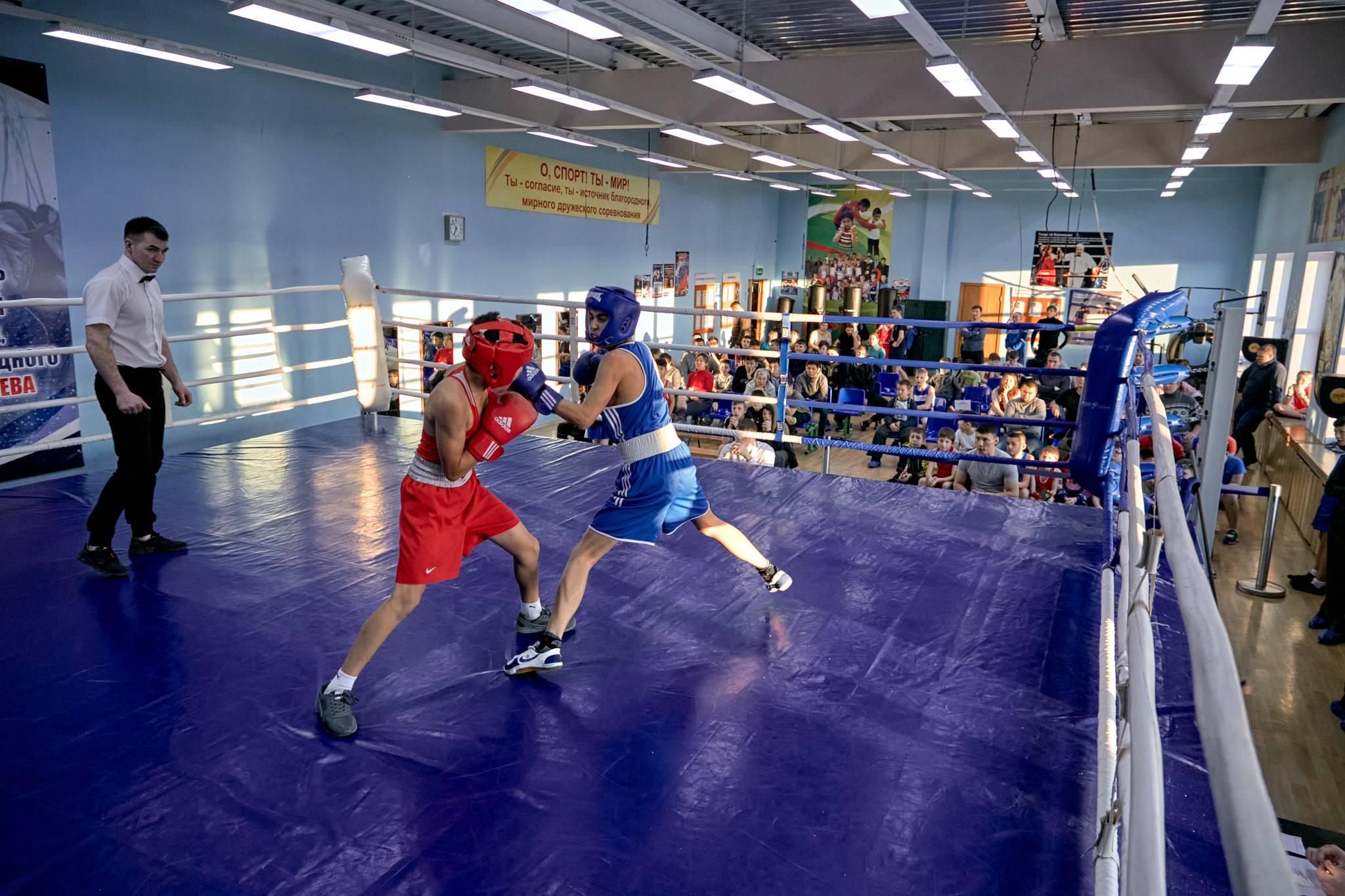 Открытый турнир ДЮСШ по боксу