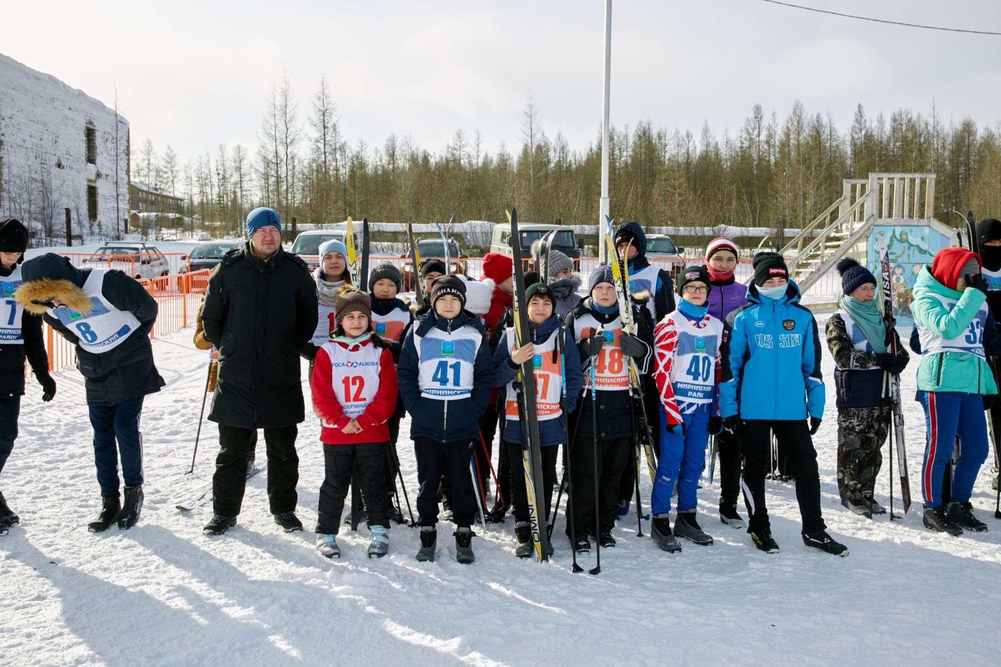 Кубок школ Мирнинского района по лыжным гонкам