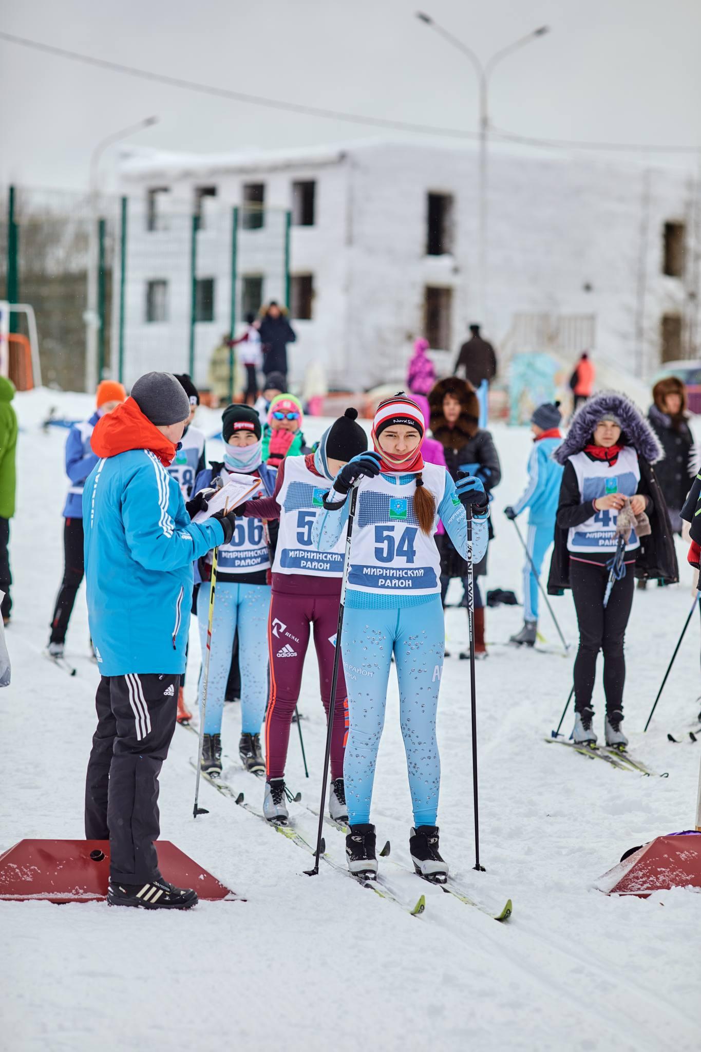 Открытое первенство ДЮСШ по лыжным гонкам