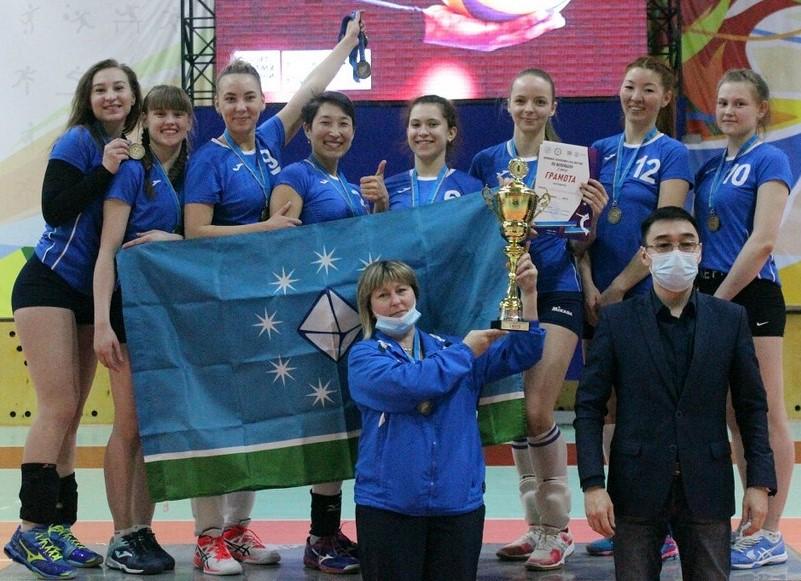 ИТОГИ Чемпионата Республики (Саха) Якутия по волейболу среди женских команд 1 лига